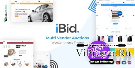 Тема WordPress - iBid v1.3