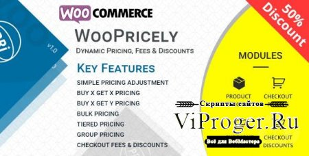 Плагин WordPress - WooPricely v1.3.2